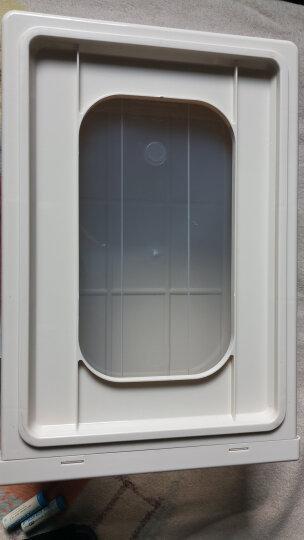 【3件7折】百露组合收纳柜抽屉式透明内衣收纳箱衣柜收纳盒宝宝储物柜儿童柜 加大号清新绿三个装 晒单图