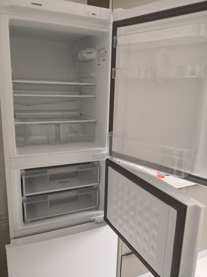 西门子(SIEMENS) 232升 三门冰箱 小型电冰箱 组合冷冻 简约外观(白色) BCD-232(KG23N111EW) 晒单图