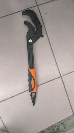 易之力管钳扳手 工具套装活动万用快速多功能板手开口板子 大号一把(夹持范围:30~60mm) 晒单图