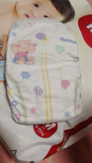 韩国好奇(Huggies) 铂金装纸尿裤 S28片 4-8kg 男女通用 晒单图