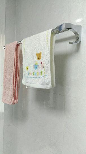 希箭/HOROW不锈钢毛巾架浴巾架置物架组合卫生间浴室挂件卫浴五金挂件套装 亮光加厚六件套E 晒单图