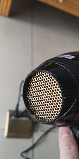 康夫8925专业发廊级电吹风机大功率2200W 冷热风理发店家用吹风筒正品 发廊推荐黑色 晒单图