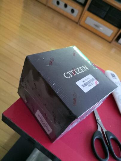 西铁城(CITIZEN)手表 光动能不锈钢镀玫瑰金色带日期女表FE6093-87X 晒单图