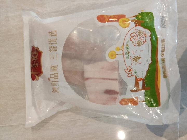 千喜鹤 猪肉馅 500g 肥瘦比3:7 猪肉生鲜 包子馅料饺子馅料肉丸子狮子头食材 晒单图