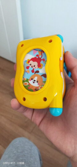 澳贝(AUBY)儿童玩具宝宝学习遥控器婴幼儿童中英双语认字玩具男女孩生日礼物(新旧配色随机发货)461571 晒单图