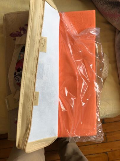 富安娜家纺 床上用品四件套纯棉全棉床品套件床单被套 小清新波点单双人 1米5/1米8床(203*229cm)粉色 晒单图