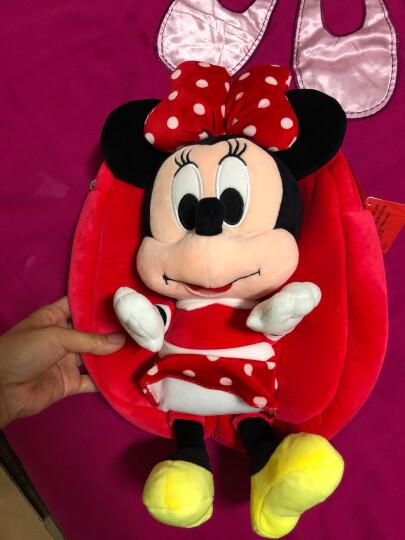 迪士尼Disney 儿童毛绒玩具背包 幼儿园书包 Q版小熊卡通可爱 玩具双肩背包 维尼熊 晒单图