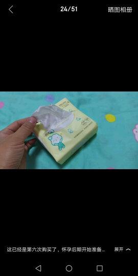 全棉时代棉柔巾婴儿棉柔巾干湿两用巾洗脸巾一次性抽纸巾擦脸巾100抽/包 18包 晒单图