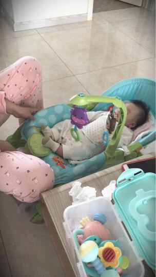 费雪(Fisher-Price) 新生儿婴儿摇椅宝宝安抚哄睡电动可爱动物多功能轻便睡觉椅W2811 晒单图