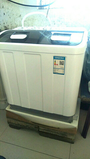 金帅(jinshuai) 4.5公斤 全半自动洗衣机 双杠 双桶 波轮婴儿童 宝宝 家用 小型洗衣机 4.5公斤强力风干款 18号发货 晒单图