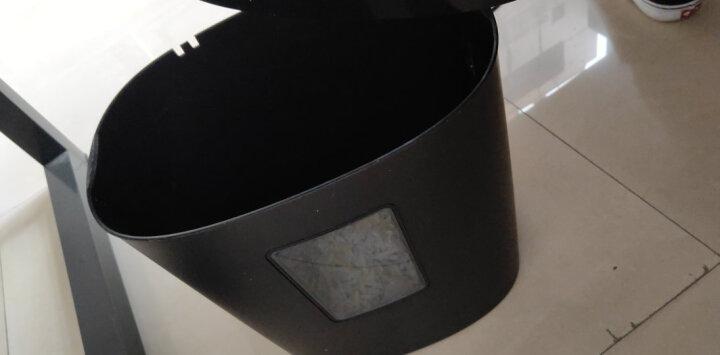 得力(deli)双入纸口高端长时间全自动碎纸机 5级保密文件颗粒粉碎机碎纸机 80张自动入纸 晒单图