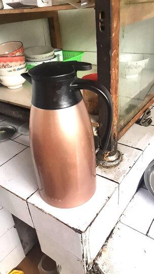 咔咔保温壶暖壶家用热水瓶水壶暖瓶开水瓶保温瓶大容量304不锈钢保暖壶欧式家用热水壶保温咖啡杯壶 浪漫紫 晒单图