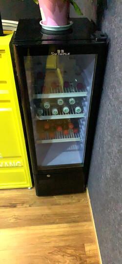 【送货入户】雪花 (SNOWFLK)冰吧酒柜家用迷你单门冷藏柜保鲜柜小冰箱展示柜茶叶柜饮料柜 LC-98 晒单图
