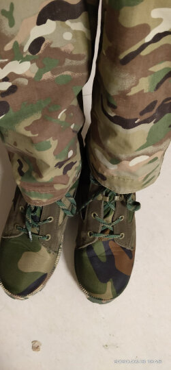 CQB.CSZ 陆地作战靴户外耐磨07军靴男战术靴高帮陆战靴轻便耐磨防滑透气军迷军靴 猎人迷彩 40 晒单图