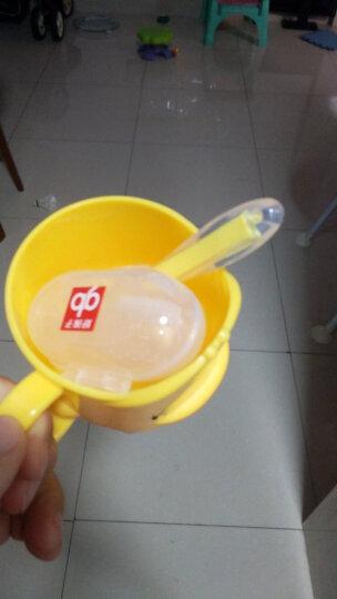 好孩子(gb)儿童牙刷婴儿宝宝牙刷1岁2岁儿童牙膏可吞咽婴幼儿指套牙刷新生儿护齿啫喱 指套(6个月以上)+牙刷(1岁以上) 晒单图