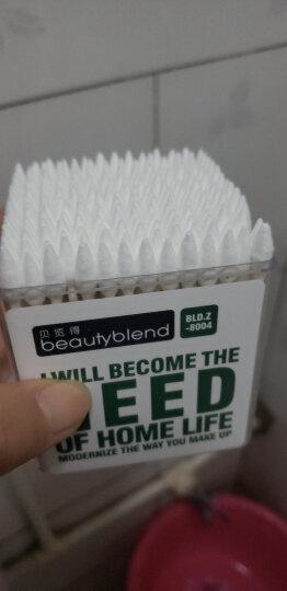 BLD贝览得尖头棉签纸轴双头棉花棒 宝宝螺旋尖头棉签 卸妆棉花棒 200支1盒 晒单图