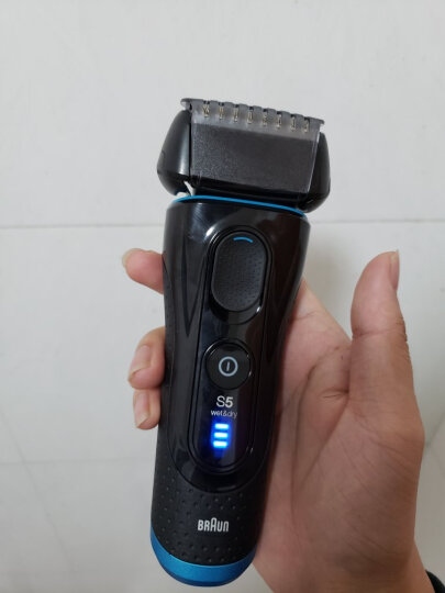 博朗(BRAUN)剃须刀全身水洗电动刮胡刀德国整机进口5系5050cc含智能清洁中心 晒单图