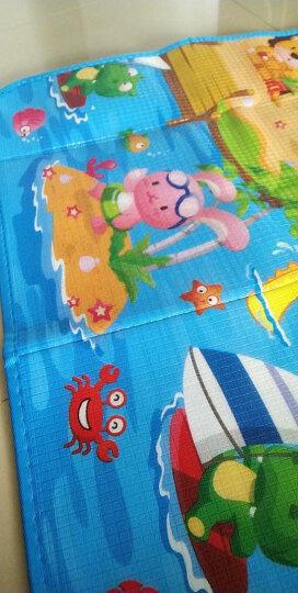 明德Meitoku  HelloKitty 加厚1.5cmXPE爬行垫宝宝爬爬垫卡通环保防潮儿童游戏垫 160*200cm 韩式方格 晒单图