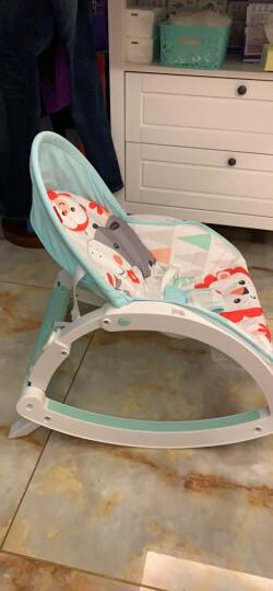费雪(Fisher Price) 新生儿宝宝婴幼儿可爱动物多功能轻便摇椅睡觉椅W2811 晒单图