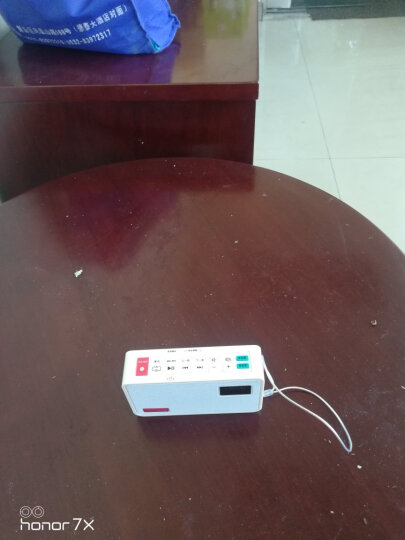 德生(Tecsun)ICR-100 收音机 复读机 插卡音响 录音机 老年人半导体 英语学习机 广播小音响(银色) 晒单图