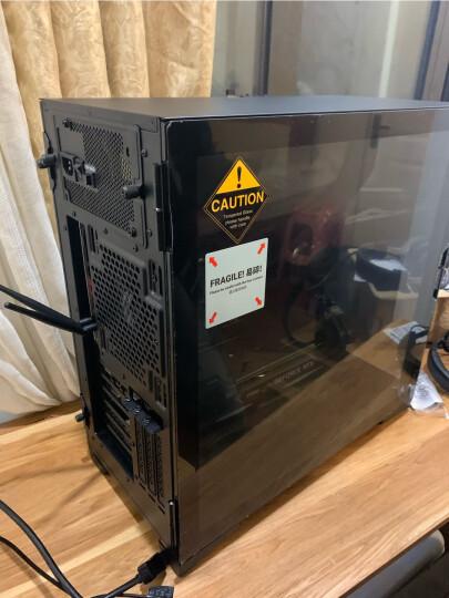 安钛克(Antec)P110侧透 1mm钢板11.7kg大空间/中塔钢化玻璃/ATX-MATX-ITX主板/水冷电脑机箱台式机游戏主机箱 晒单图