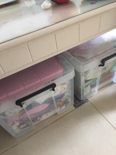 禧天龙Citylong 96L加大号高透可视收纳箱加厚抗压环保塑料储物箱家用整理箱大力士系列 6171 晒单图