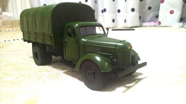 合金军事模型儿童玩具车坦克直升飞机声光回力仿真金属汽车 辽宁号航母 晒单图