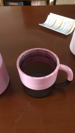 私家良品 保温杯男女士大容量商务高档车载316不锈钢水杯壶儿童学生便携户外泡茶杯子 熏衣紫 晒单图