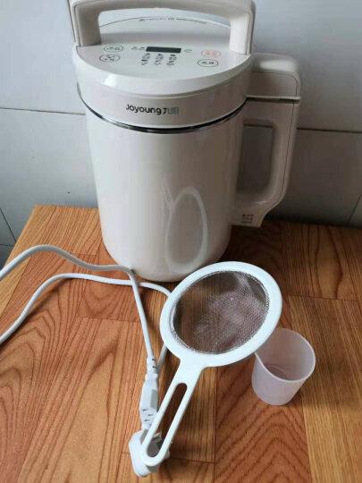 九阳(Joyoung)豆浆机破壁免滤大容量1.6升L家用双预约温度时间多功能豆浆机米糊机 栗白色 晒单图