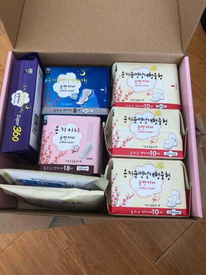 恩芝(Eun jee)超薄日用卫生巾 250mm 12片(韩国原装进口) 晒单图