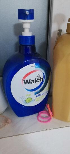 威露士(Walch)健康沐浴露 清新青柠 1000ml 男女通用 晒单图
