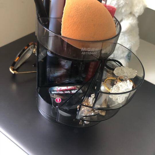 晨光(M&G)文具黑色透明四层时尚笔筒 多功能办公桌面收纳盒 学生小物品收纳神器 单个装ABT98447 晒单图