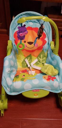 费雪(Fisher Price)益智玩具 新生儿宝宝婴幼儿可爱动物多功能轻便摇椅睡觉椅W2811 晒单图