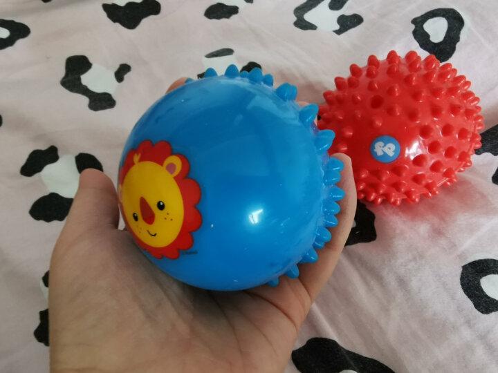 费雪(Fisher Price)运动玩具 足球幼儿园宝宝玩具球13cm F0911 晒单图