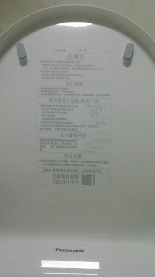 【京东超级盒子】松下(panasonic)智能马桶盖 加热冲洗 DL-1109CWS 11.11限量礼盒 晒单图