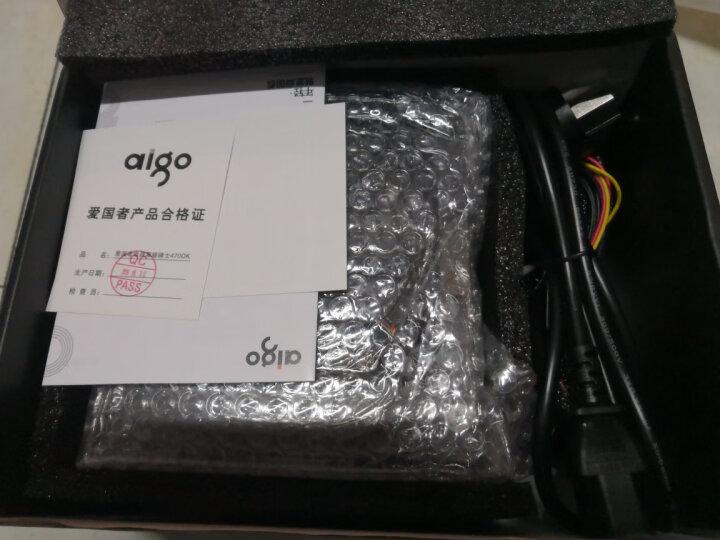 爱国者(aigo)额定300W 黑暗骑士470DK台式机电脑电源(三年质保/宽幅节能省电/支持背线) 晒单图