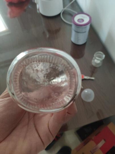 贝亲(Pigeon) 奶瓶 玻璃奶瓶 新生儿 宽口径玻璃奶瓶 婴儿奶瓶 240ml(绿色瓶盖)AA91 自然实感L码奶嘴 晒单图