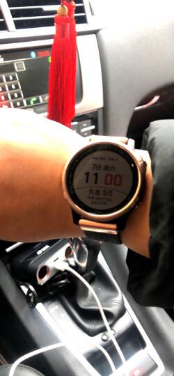 佳明(GARMIN)Fenix5S飞耐时5S中文蓝宝石玻璃镜面皮表带GPS多功能登山跑步智能运动表游泳户外腕表光学心率 晒单图