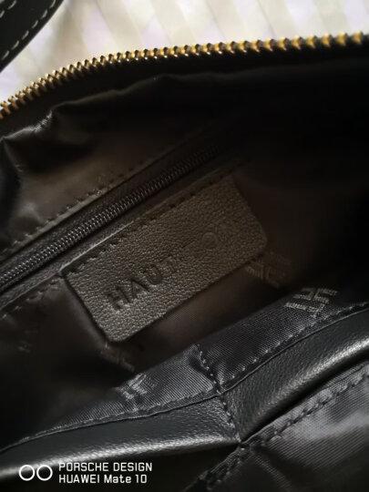 皓顿(HAUTTON) 钱包男时尚潮流男士钱包多功能大容量长款手包手抓包商务休闲手拿包男11 SZB78+升级黑色 晒单图