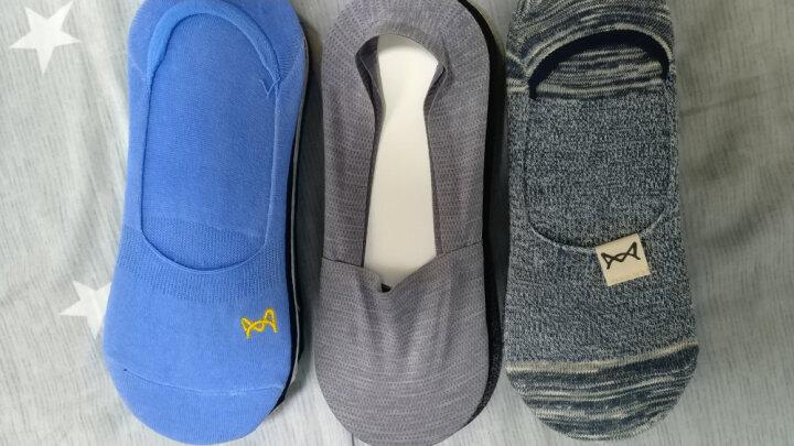 猫人 4双装男士袜子男船袜男透气吸汗棉袜薄款纯色男生浅口短袜隐形袜 均码 晒单图