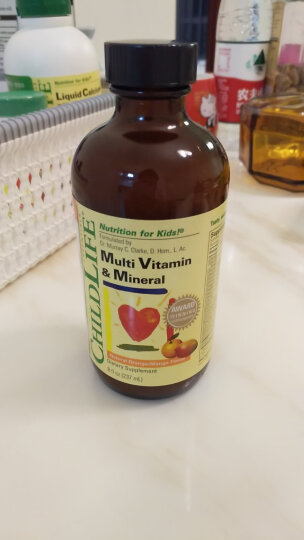 童年时光23种维生素 儿童补锌 宝宝多种维生素 复合维生素AD 美国进口 6个月以上 晒单图