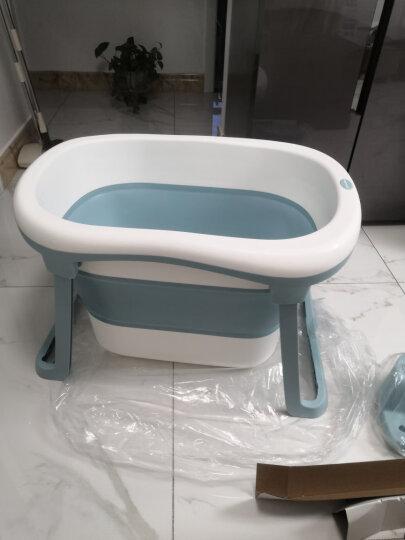 世纪宝贝(babyhood)儿童沐浴桶 宝宝洗澡桶 婴儿游泳桶中桶 新生儿游泳桶 天蓝色 BH-310 晒单图