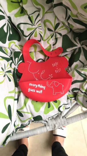 易简(yijan)婴儿儿童可调节洗头帽 儿童浴帽 宝宝防水护耳洗澡帽 薄荷绿 YP7 晒单图