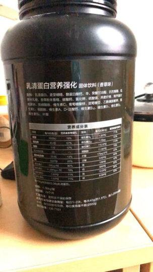 汤臣倍健 乳清蛋白粉营养强化固体饮料1360g(香草味)3磅 增肌粉 瘦人瘦子健肌粉营养健身蛋白质粉 晒单图