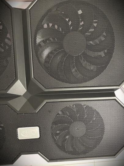 九州风神(DEEPCOOL)X6 笔记本散热器 (电脑配件/笔记本支架/散热架/散热垫/适用于15.6英寸/风冷) 晒单图