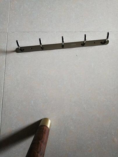 摩恩(MOEN)  不锈钢卫生间厨房衣钩排钩挂钩挂衣架墙钩衣帽钩 ACC9942 晒单图