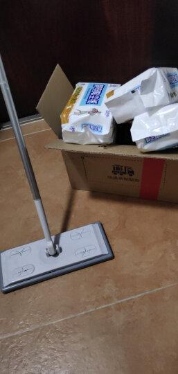 喜擦擦 静电除尘纸吸尘纸平板拖把纸 无尘纸 毛发灰尘一扫光 擦地纸 晒单图