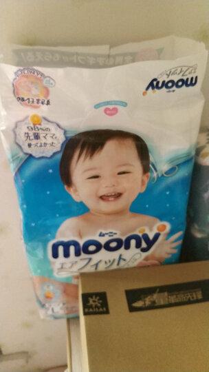 尤妮佳 MOONY 婴儿纸尿裤男女多规格可选 官方进口 爬行学习裤 M58片 尿不湿 晒单图