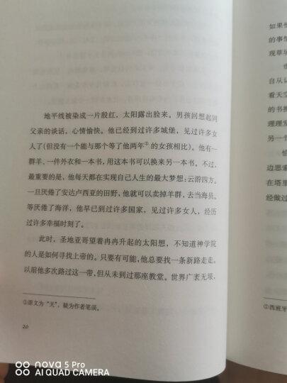 牧羊少年奇幻之旅 朗读者王源推荐 精装新版 高圆圆微博推荐枕边书 文学小说书籍 晒单图