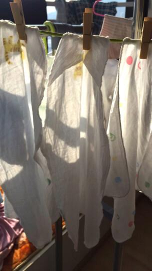 全棉时代 婴儿纱布汗巾水洗纯棉吸汗巾隔汗巾垫背巾宝宝新生儿幼儿25*50cm 3条/袋 晒单图